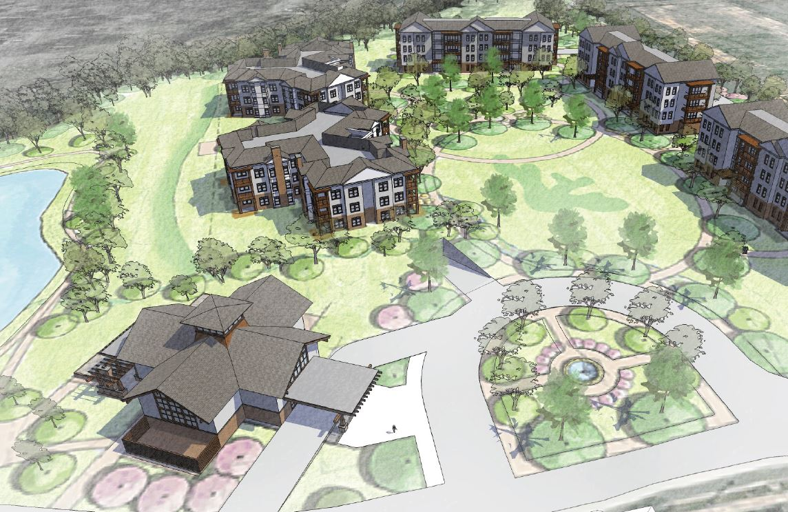 Westminster-Canterbury Townhomes rendering